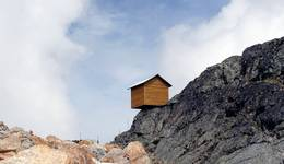 Little House on the Precipice - Blue Sky Thinking